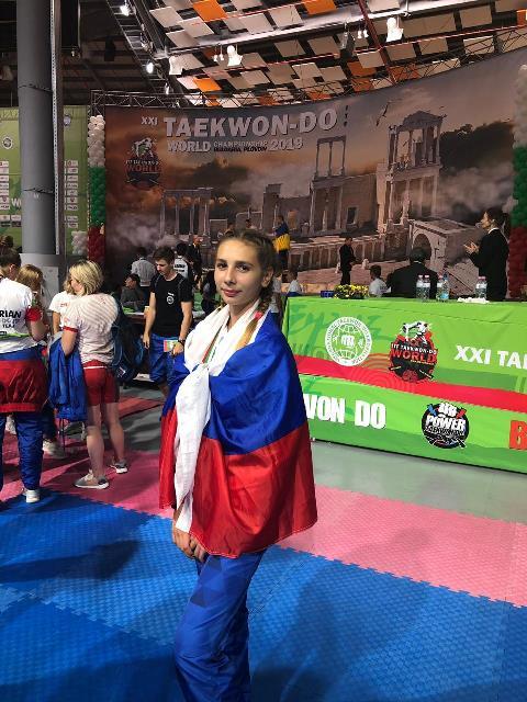 Новороссийская спортсменка стала второй в мире по тхэквондо
