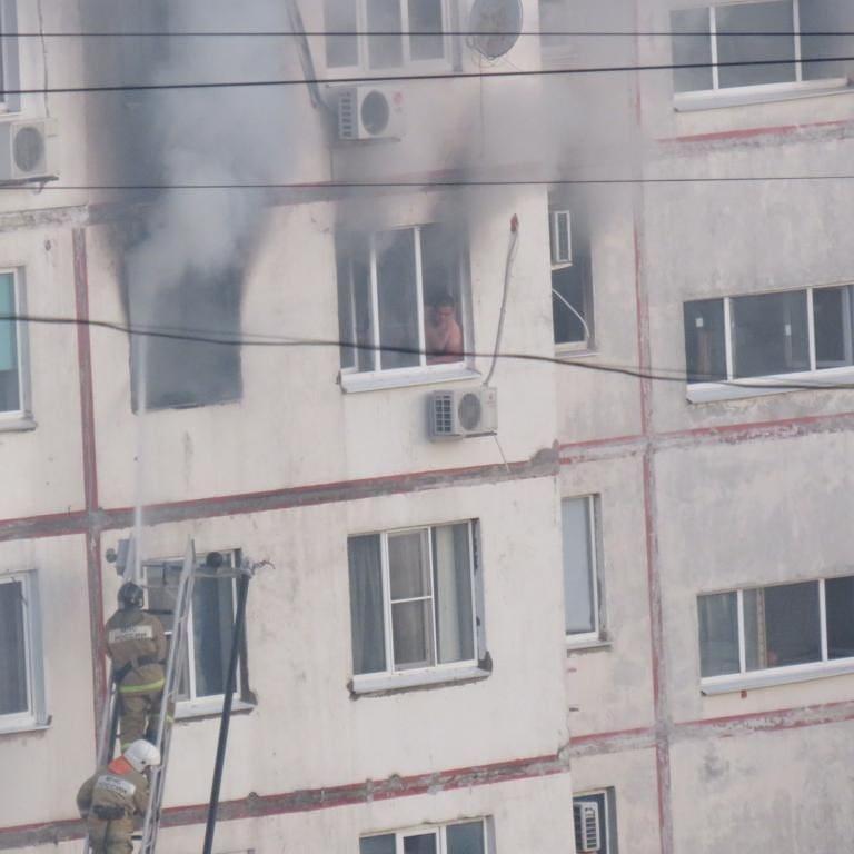 В Новороссийске из-за непогашенной сигареты выгорела квартира