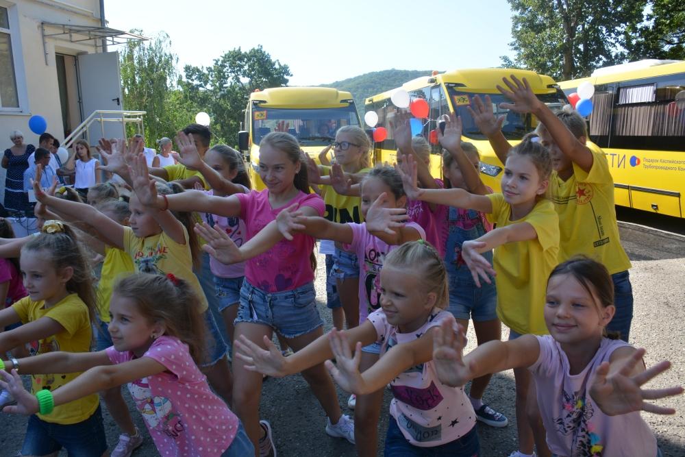 Новороссийские дети поедут в школу на новых автобусах