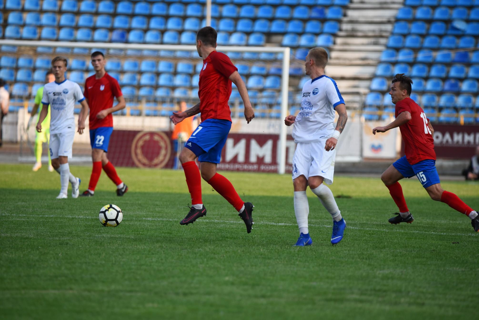 Новороссийский «Черноморец» приблизился ктройке лидеров