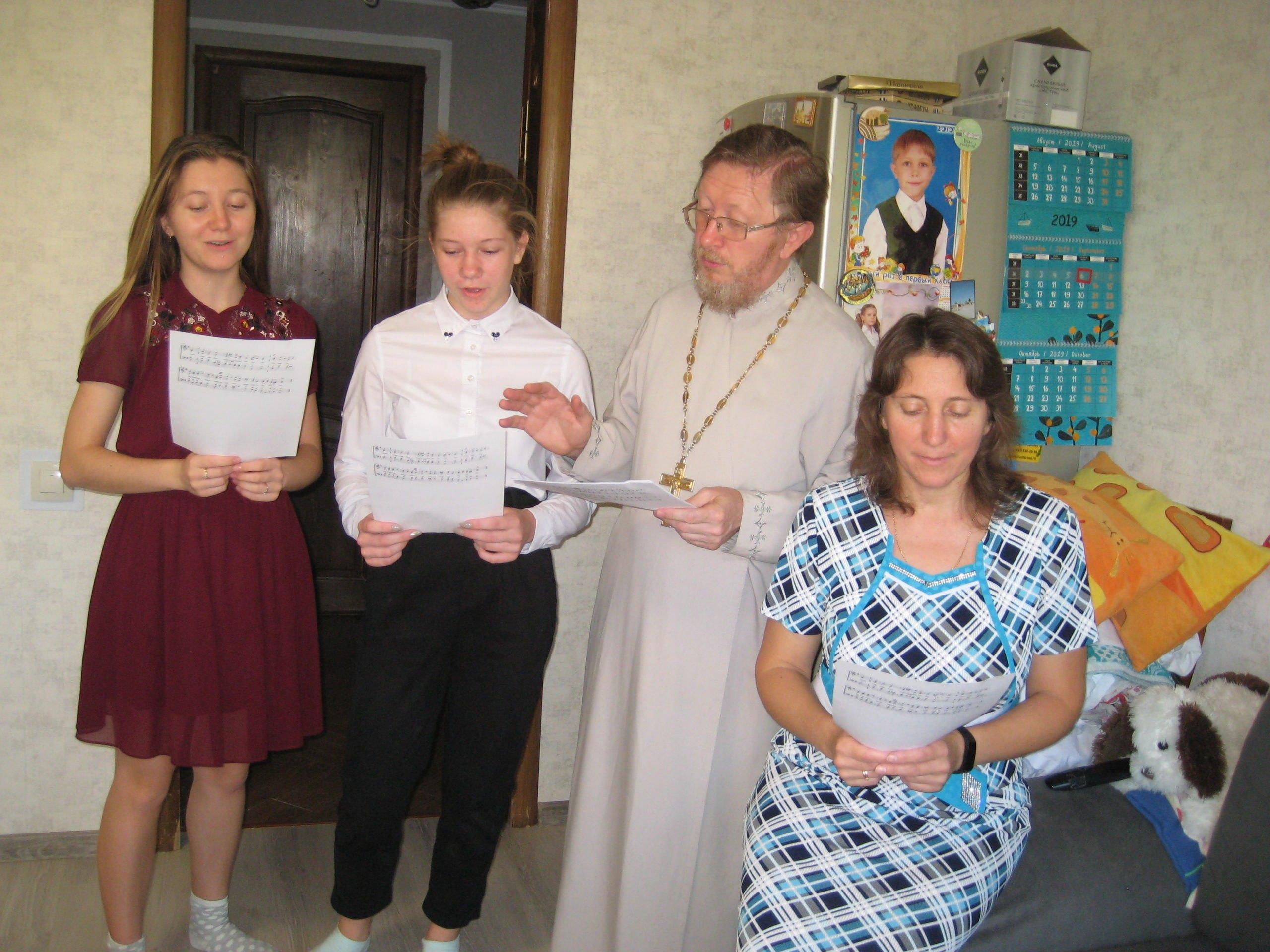 Под Новороссийском появился церковный хор