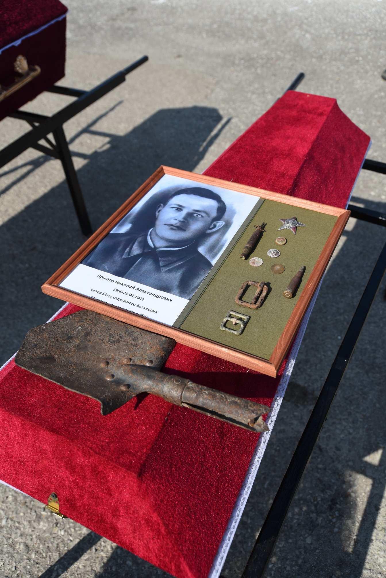 В Новороссийске перезахороноли останки воинов