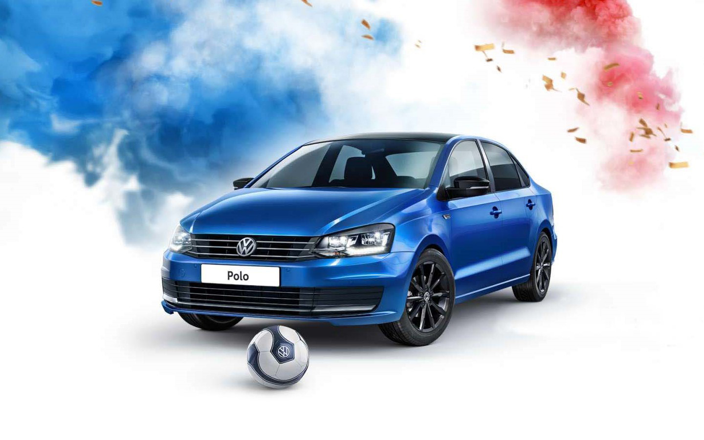 Полон футбола: Volkswagen Polo Football Edition!