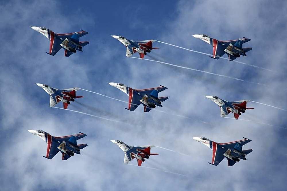 «Русские витязи» прилетят поздравить Новороссийск