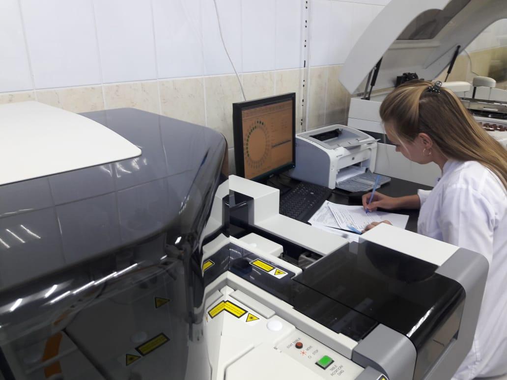 Горбольница Новороссийска усилила лабораторию