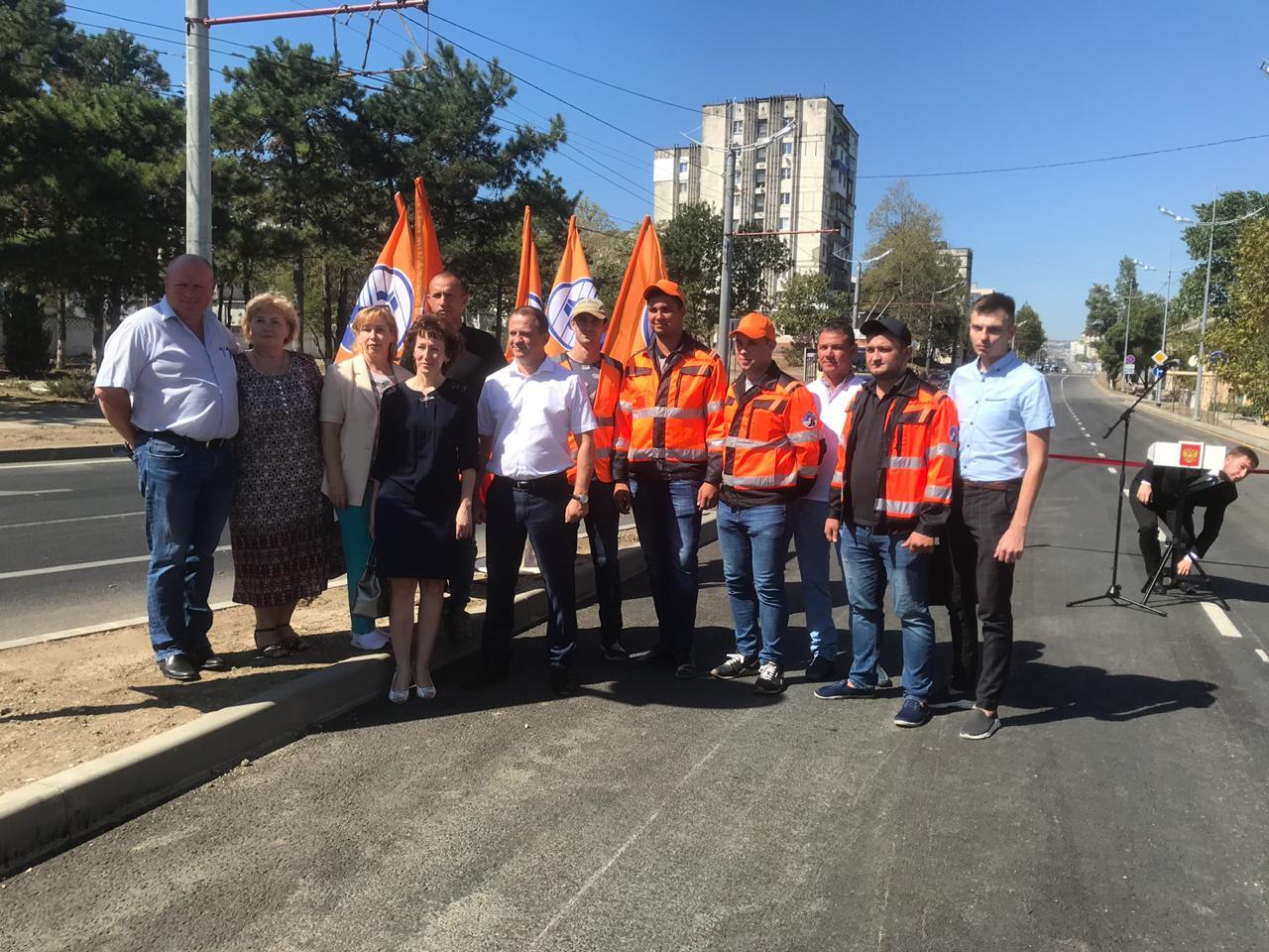 В Новороссийске открыли двухстороннее движение на Видова