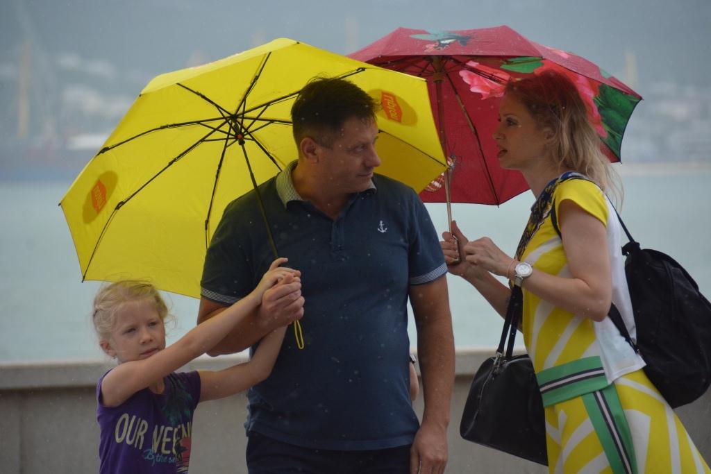 В Новороссийске всю пятницу будет идти дождь