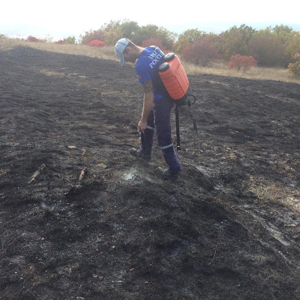 пожар в Новороссийске