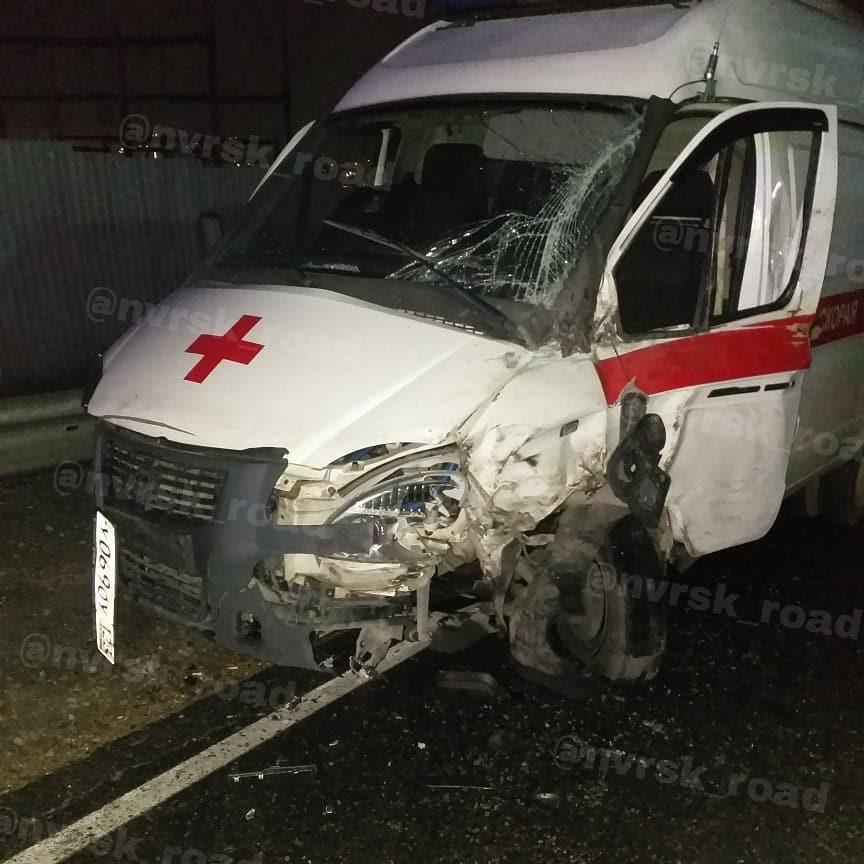 В Новороссийске ночью пришлось спасать бригаду скорой помощи