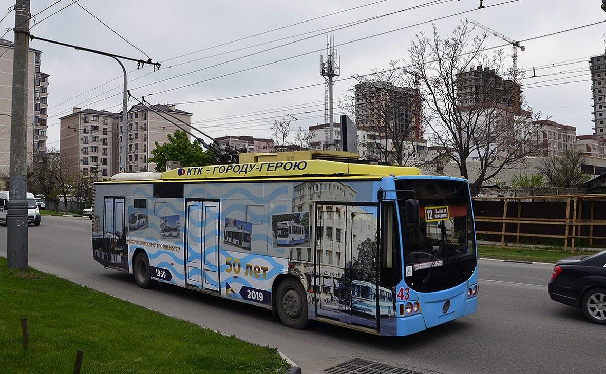 Транспорт в Новороссийске будет ходить как и прежде