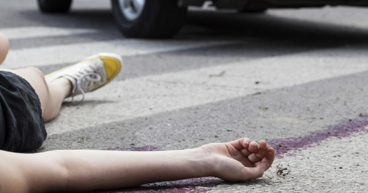 В Новороссийске во дворе сбили ребёнка