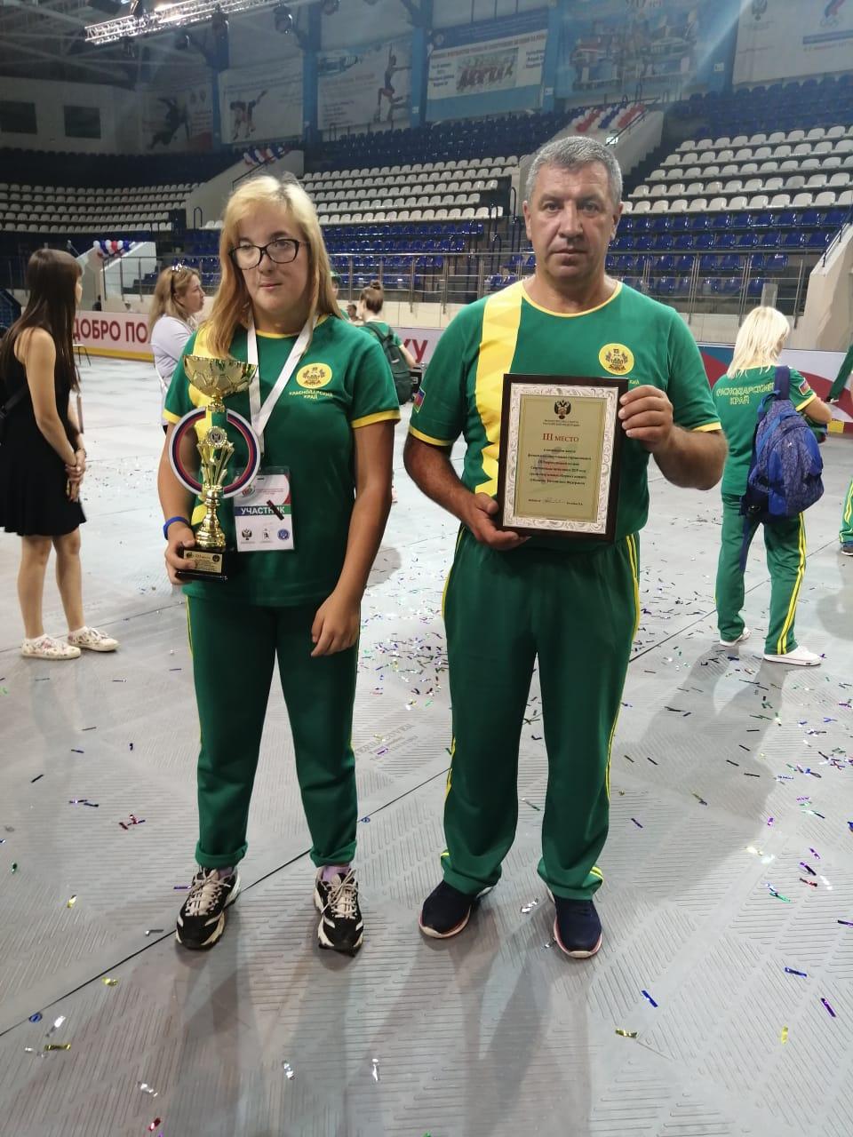 Новороссийская плавчиха одержала победу