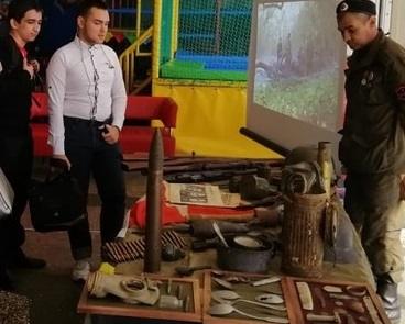 Экспонаты с мест сражений: в Новороссийске открылась выставка