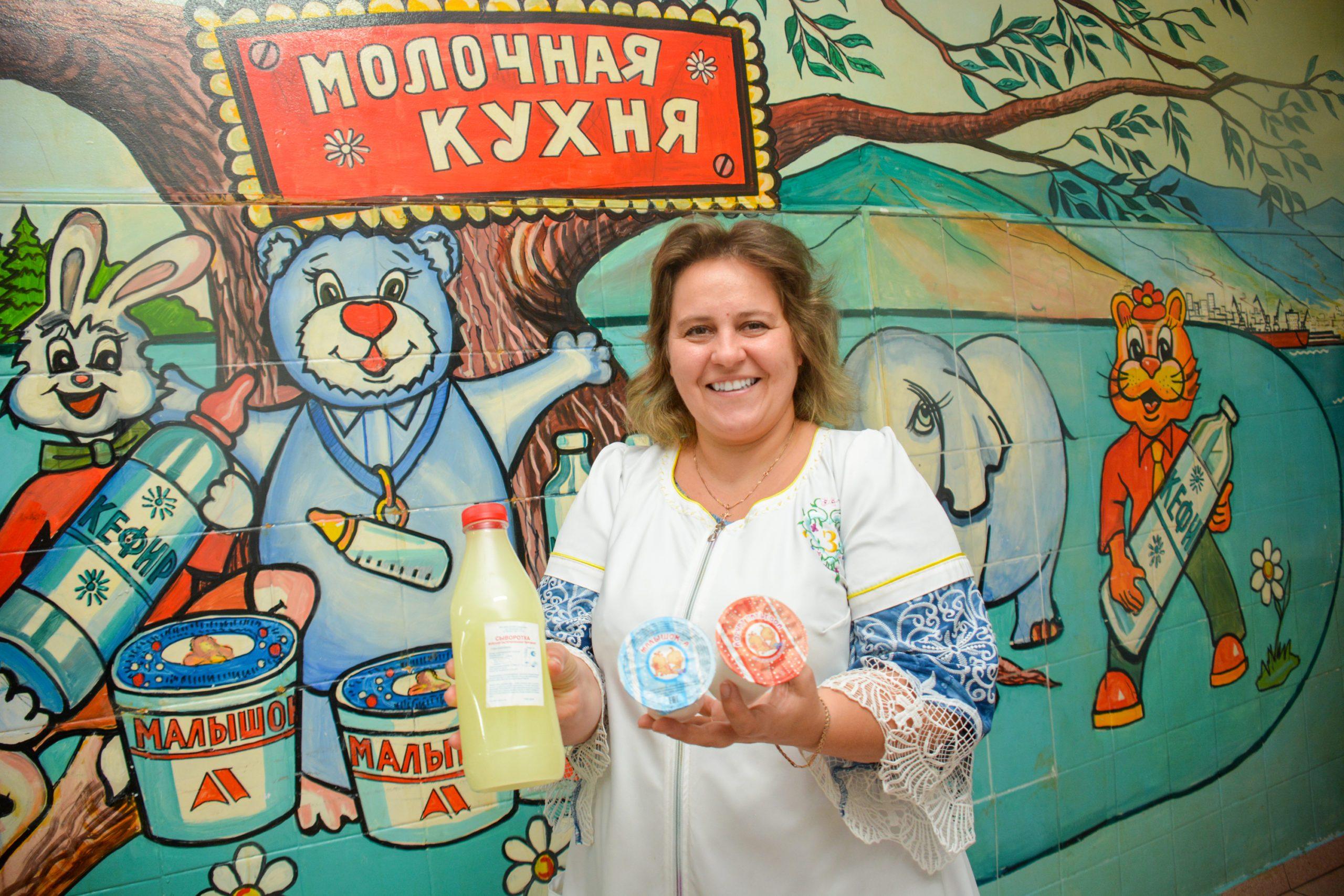 Новороссийских малышей кормят лучшим продуктом в стране