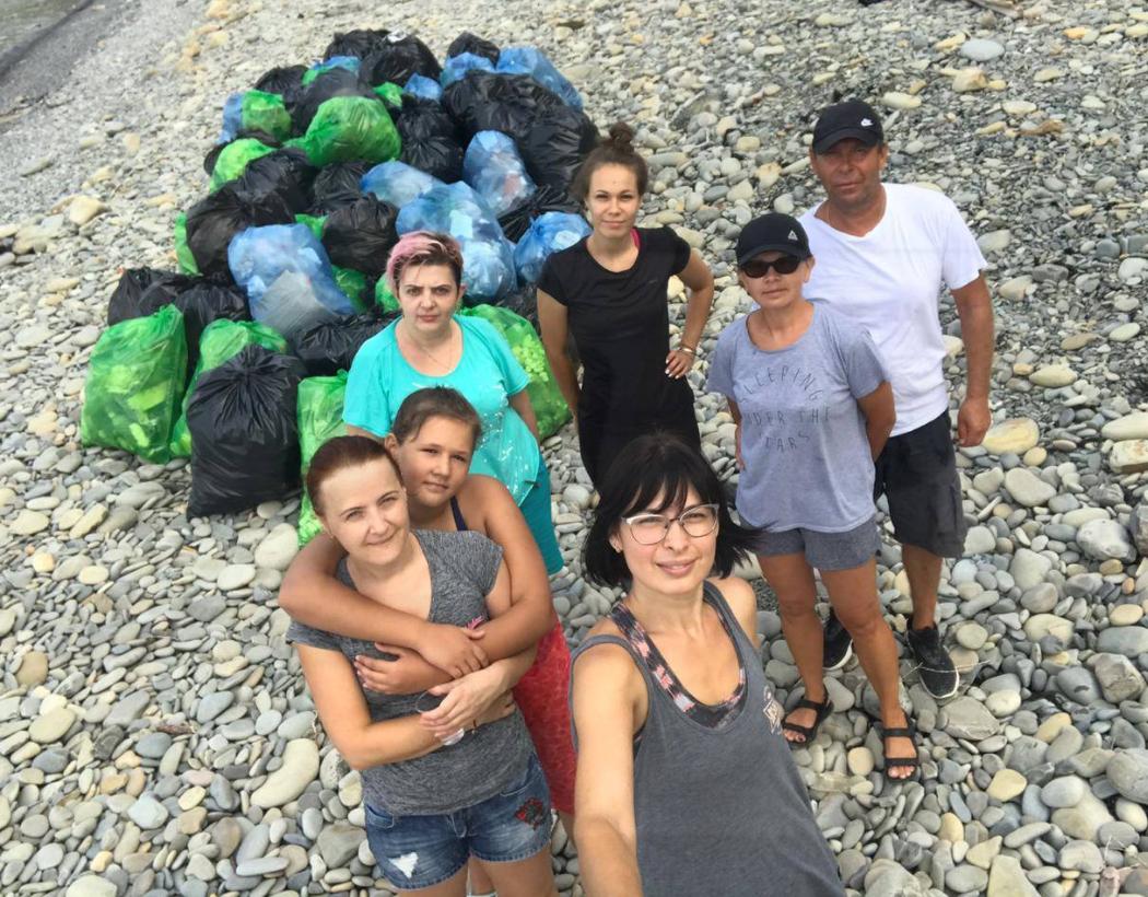 В Новороссийске прошел экологический субботник
