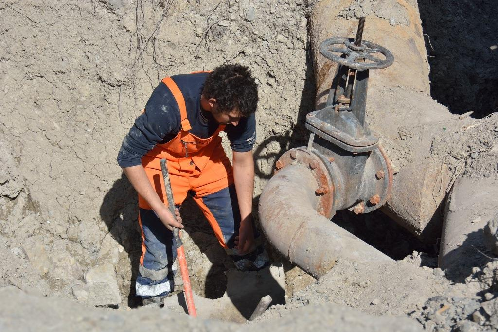 В Новороссийске начались масштабные работы по ремонту водопроводов