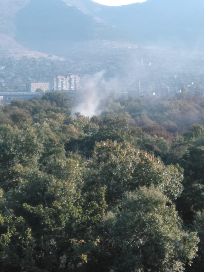 ВНовороссийске снова горела Цемесская роща