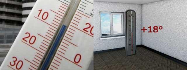 Какой должна быть температура в квартирах новороссийцев?