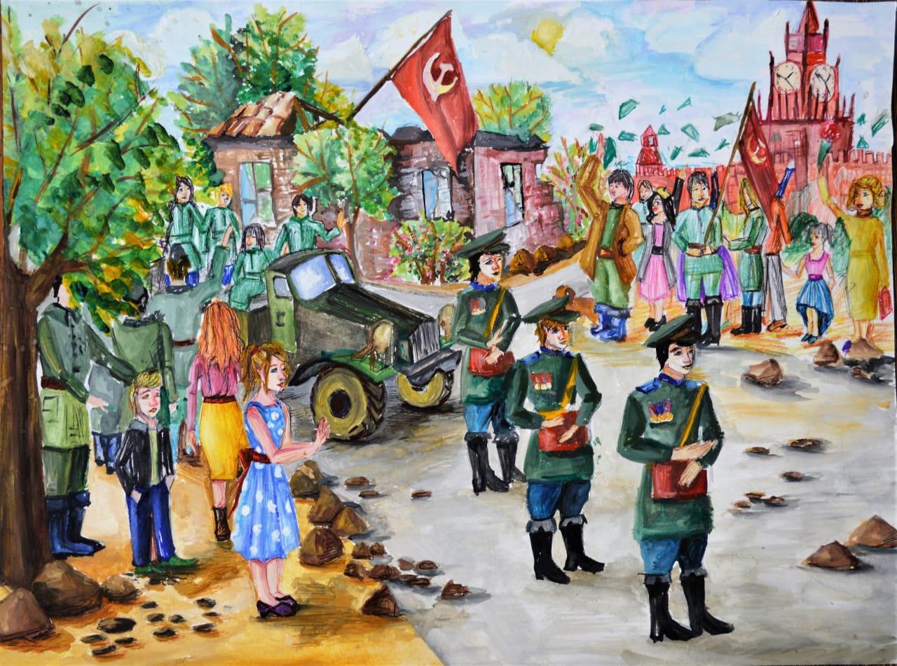Картину новороссийской художницы покажут в Москве