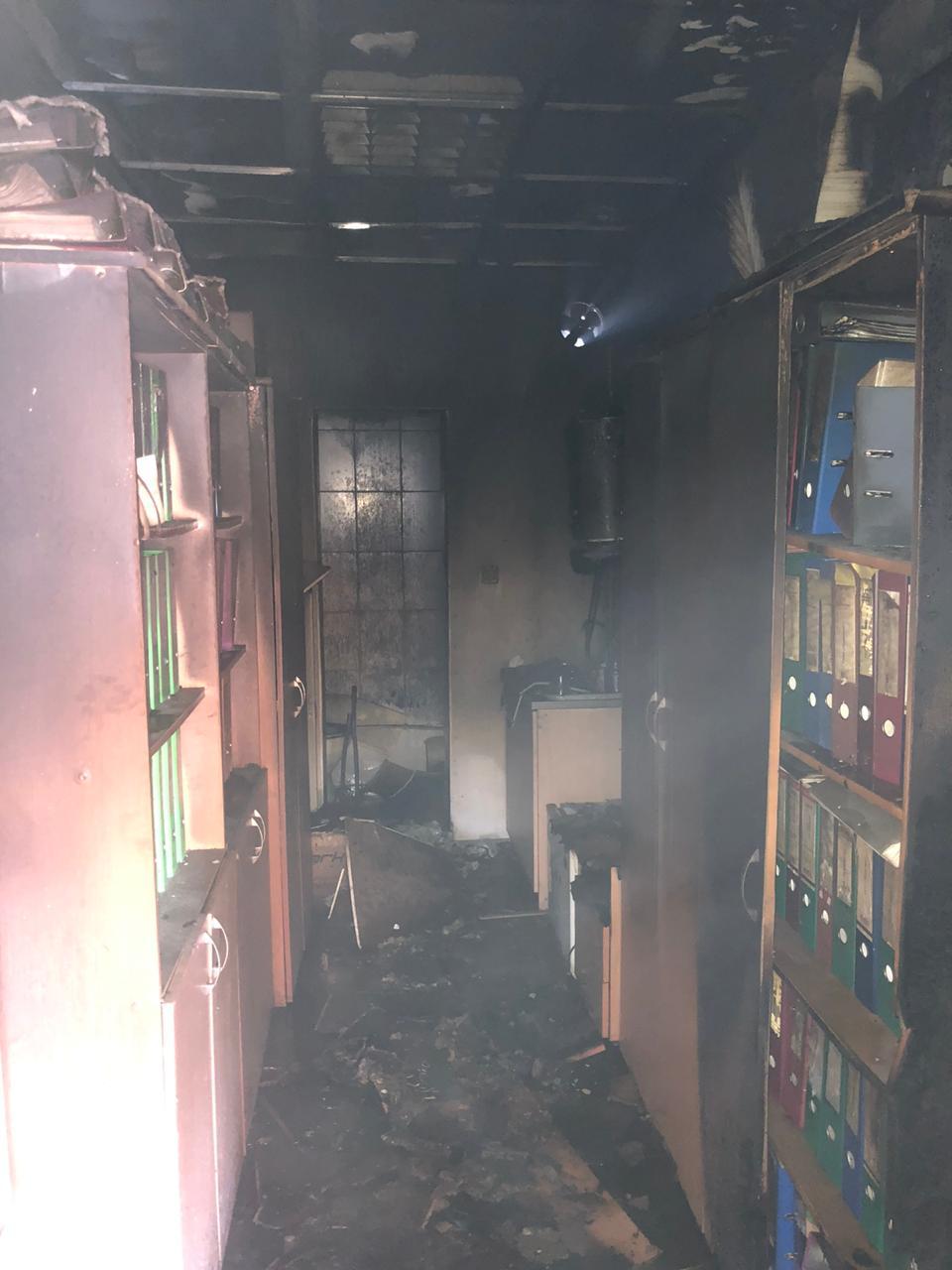ВНовороссийске чуть несгорел офис наулице Хворостянского