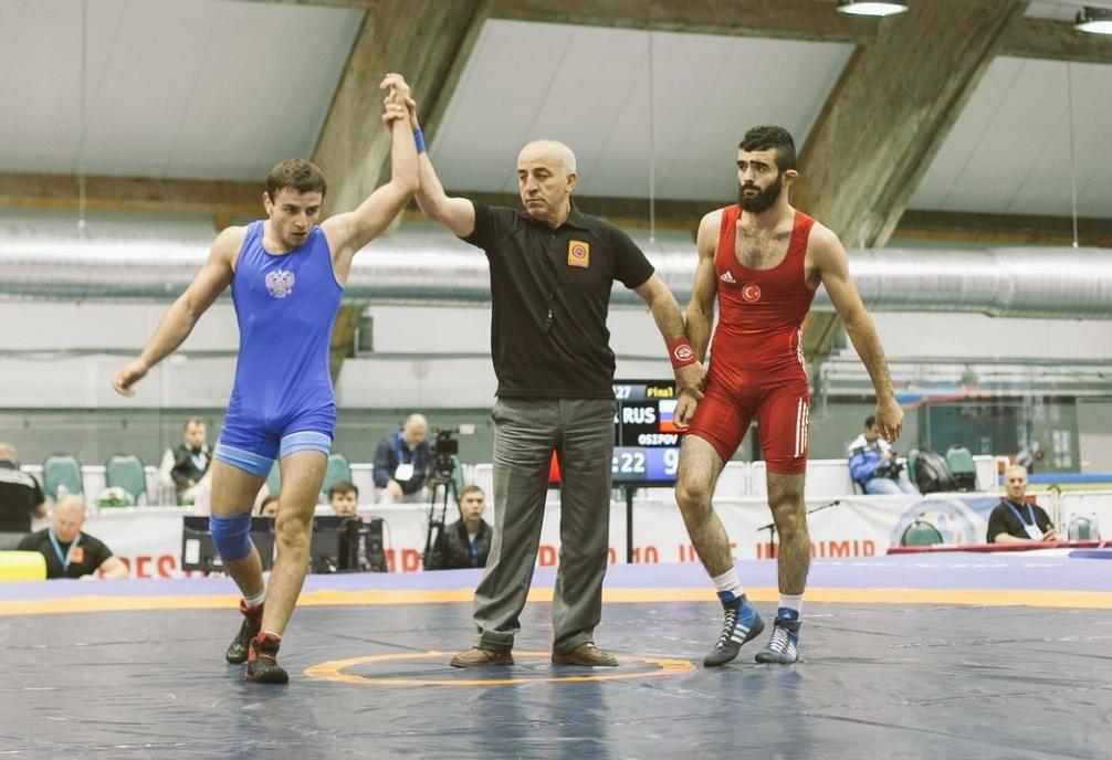 Новороссийский борец победи на чемпионате Европы