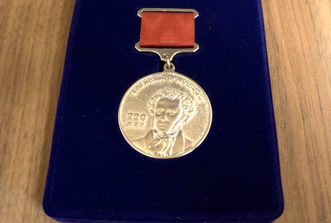 Новороссийский литератор награжден медалью