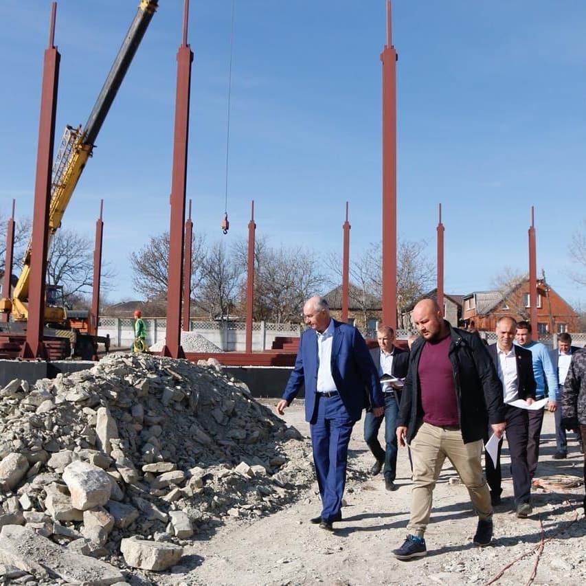 Под Новороссийском приступили к строительству спортивного комплекса