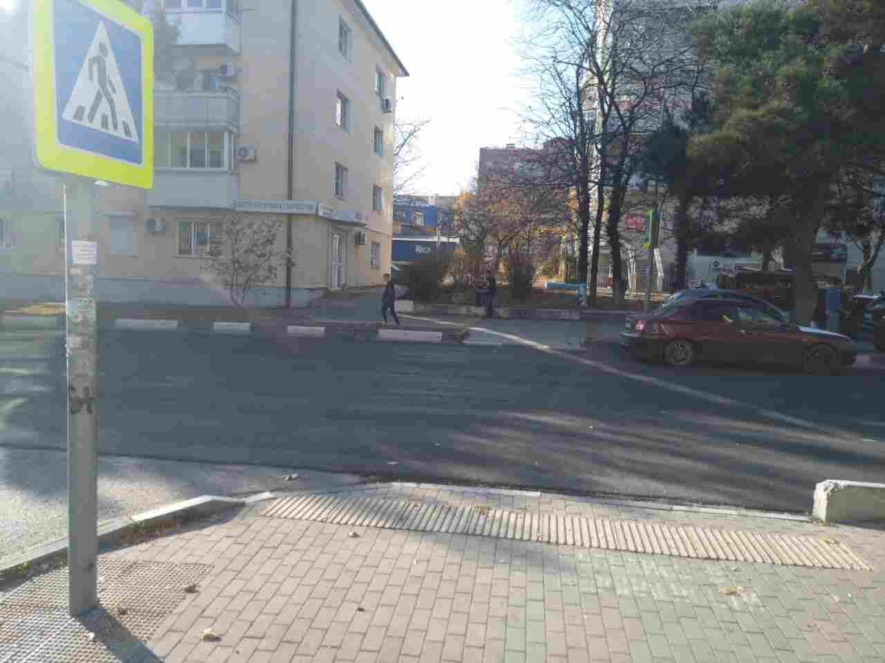 На улице Энгельса в Новороссийске сбили ребенка