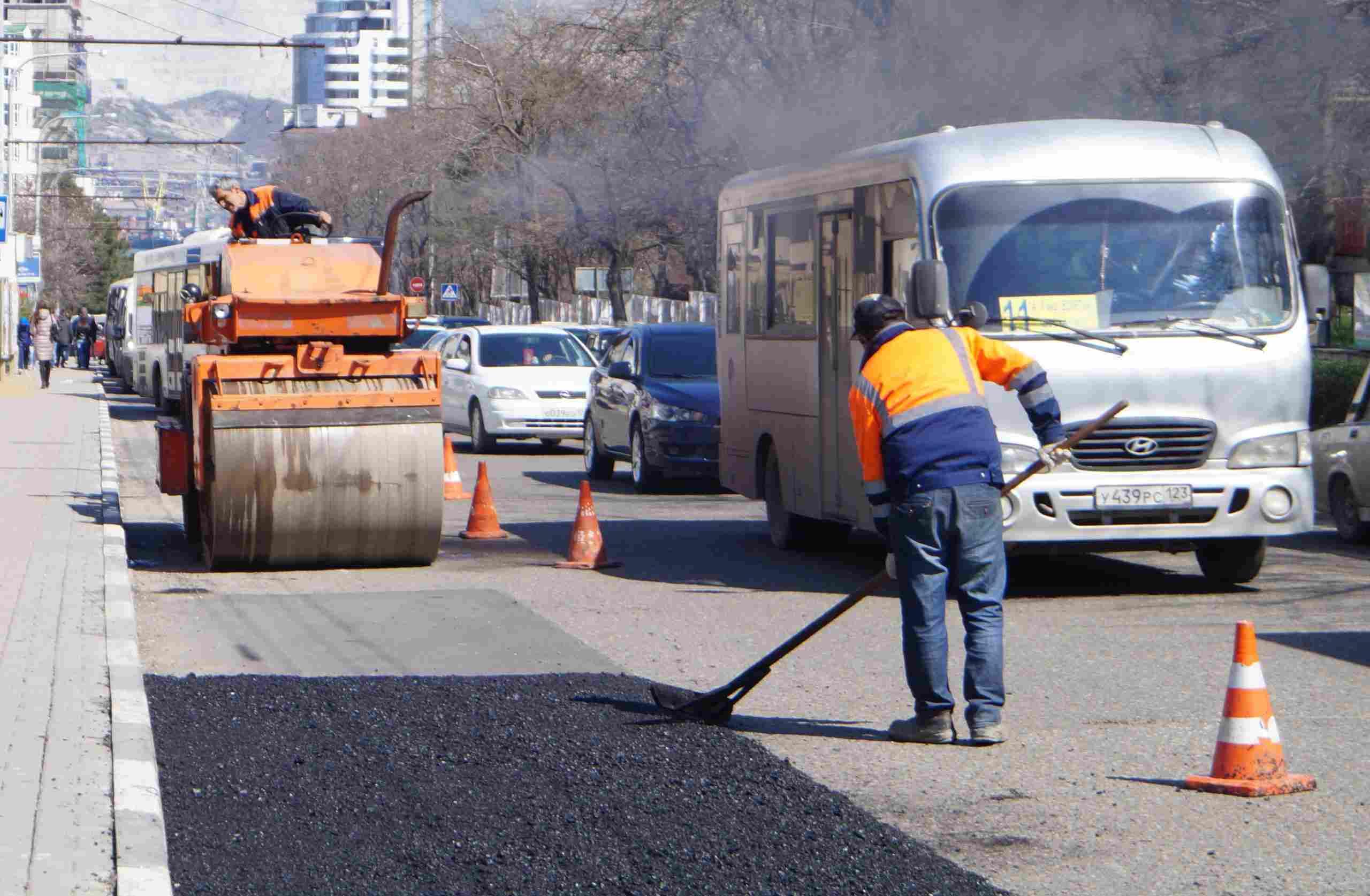В Новороссийске отремонтируют 39 улиц: названы адреса