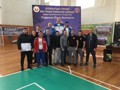 Турнир в Новороссийске посвятили тренеру