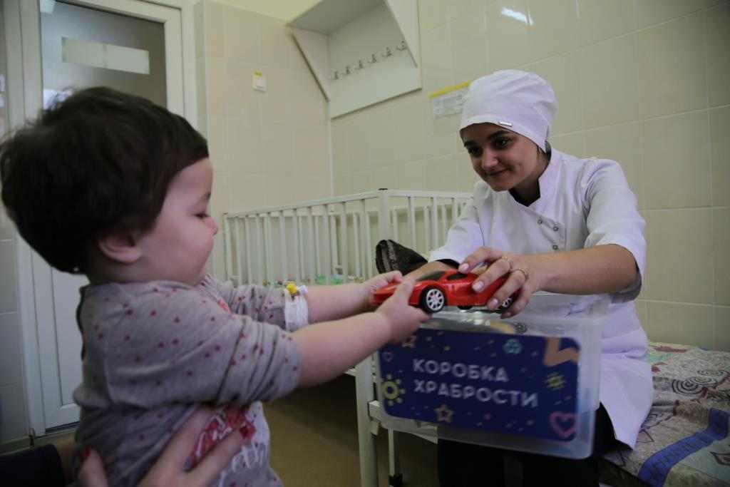 Коробки храбрости в Новороссийске