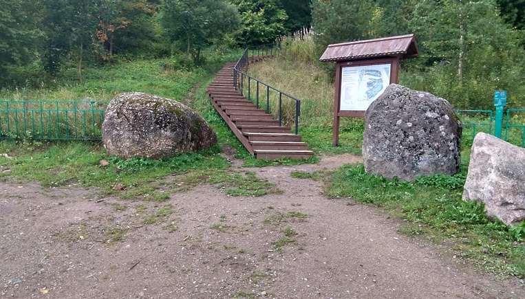 Глыба из Новороссийска украсила Народный сад камней