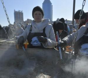 В Новороссийске приготовили рекордную шкару