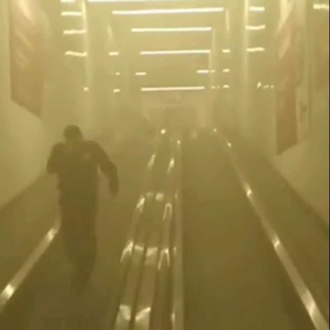 ВНовороссийске посетителей гипермаркета эвакуировали из-за пожарной тревоги