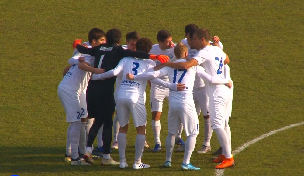 Новороссийский «Черноморец» боролся за победу с первых минут