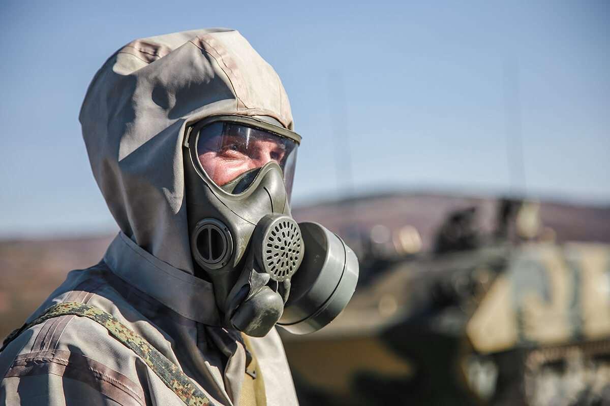 В Новороссийске бойцы способны отразить химические атаки