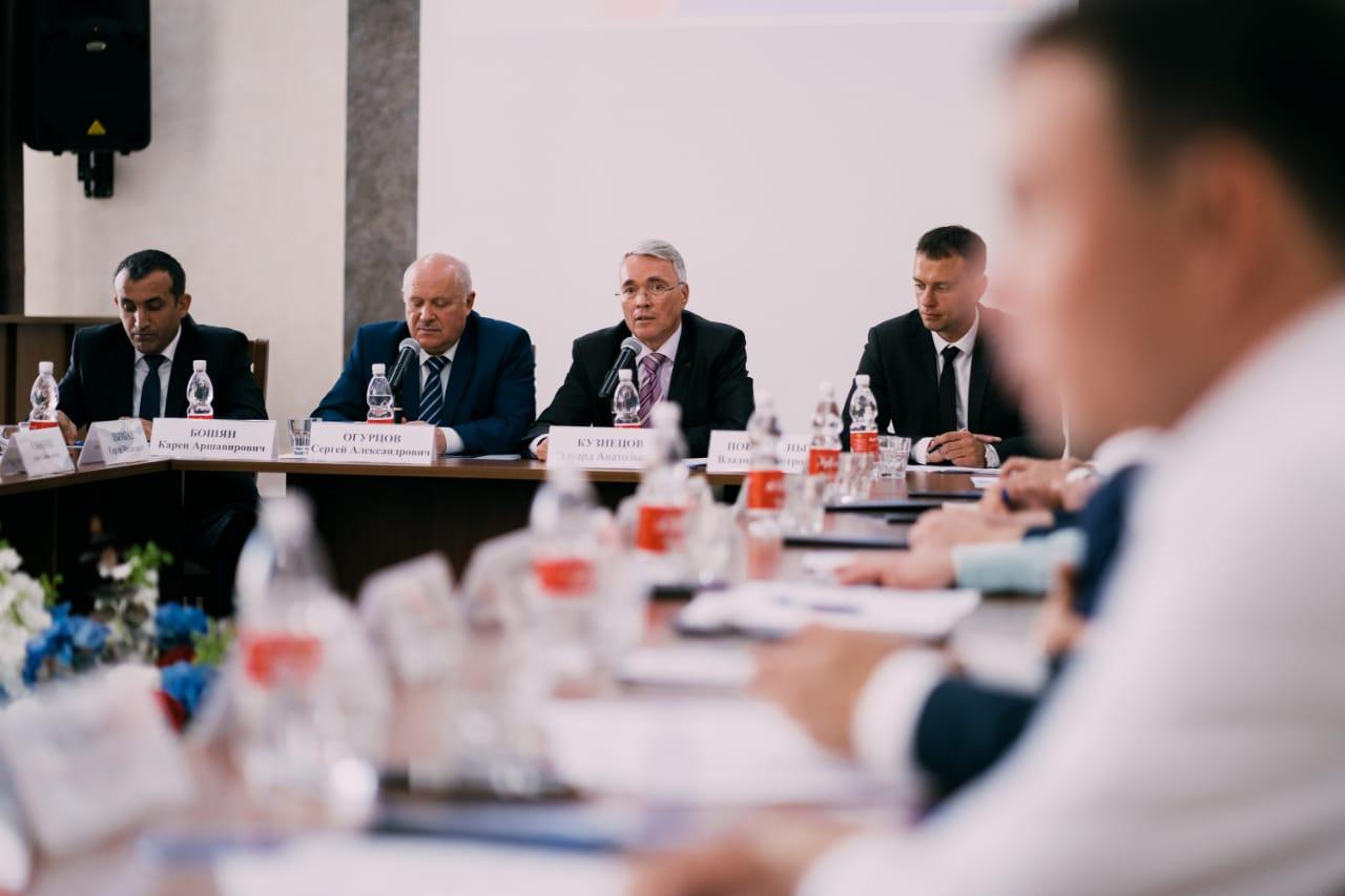 Новороссийский бизнес будет поддерживать Российский союз промышленников и предпринимателей
