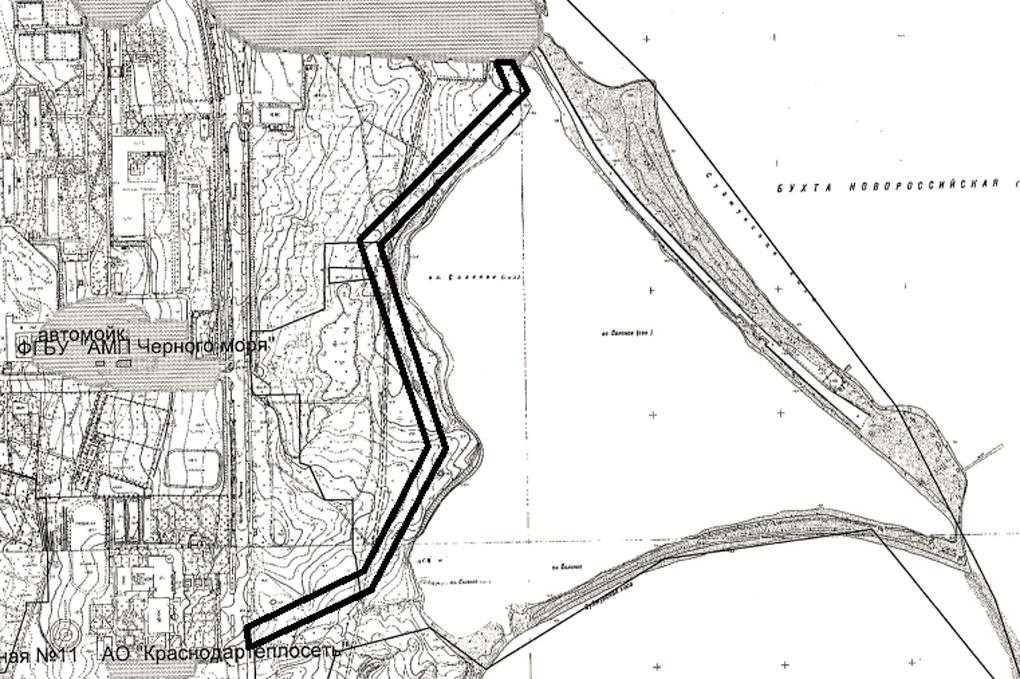 В Новороссийске вдоль озера Соленого планируют сделать пешеходную дорожку