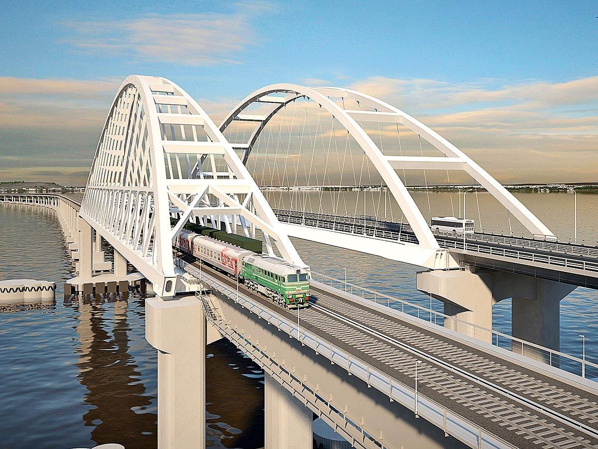 Как новороссийцам прокатиться на поезде по Керченскому мосту