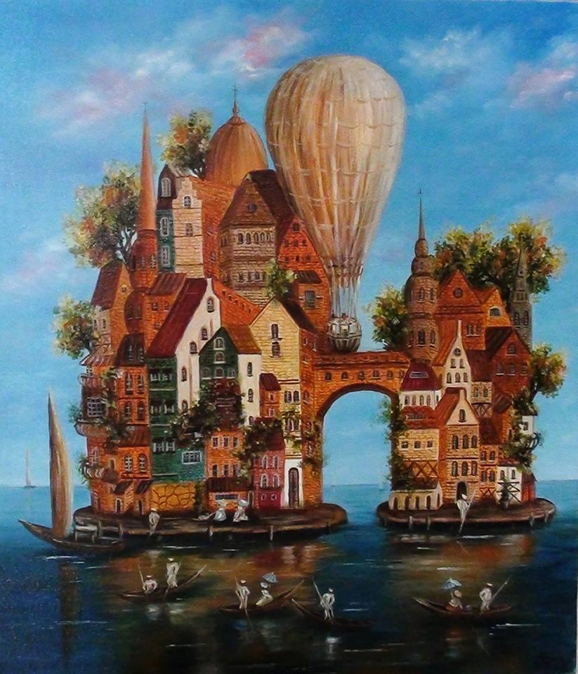 Новороссийская художница покажет живописные фантазии