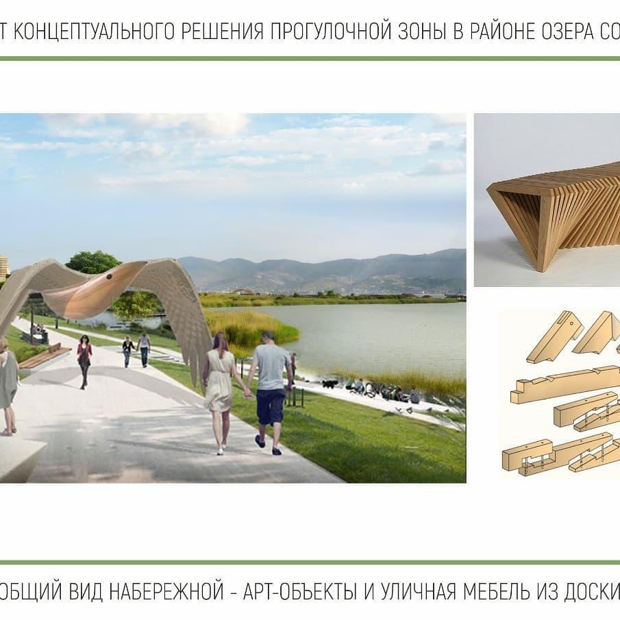 В Новороссийске между Алексино и 4-й очередью набережной можно будет гулять