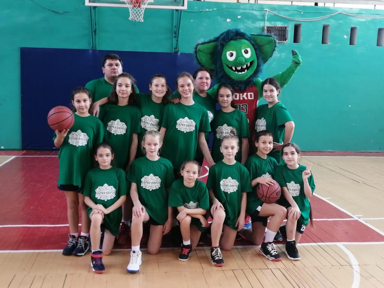 Баскетболистки Новороссийска завоевали серебро краевого первенства