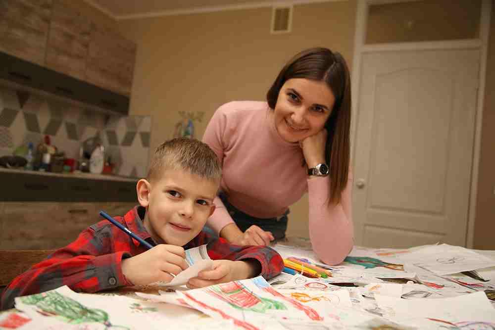 Шестилетний ребенок изНовороссийска рисует исключительно «боженьку»