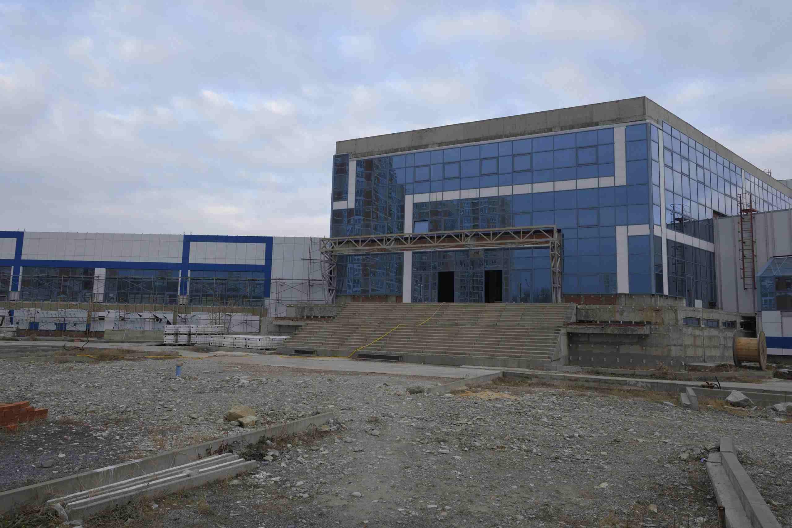У Новороссийска появился шанс достроить Дворец олимпийских видов спорта «Черноморский»