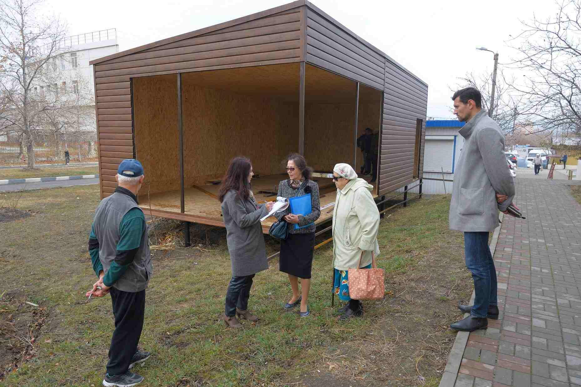 Новороссийцы против очередного ларька в зеленой зоне