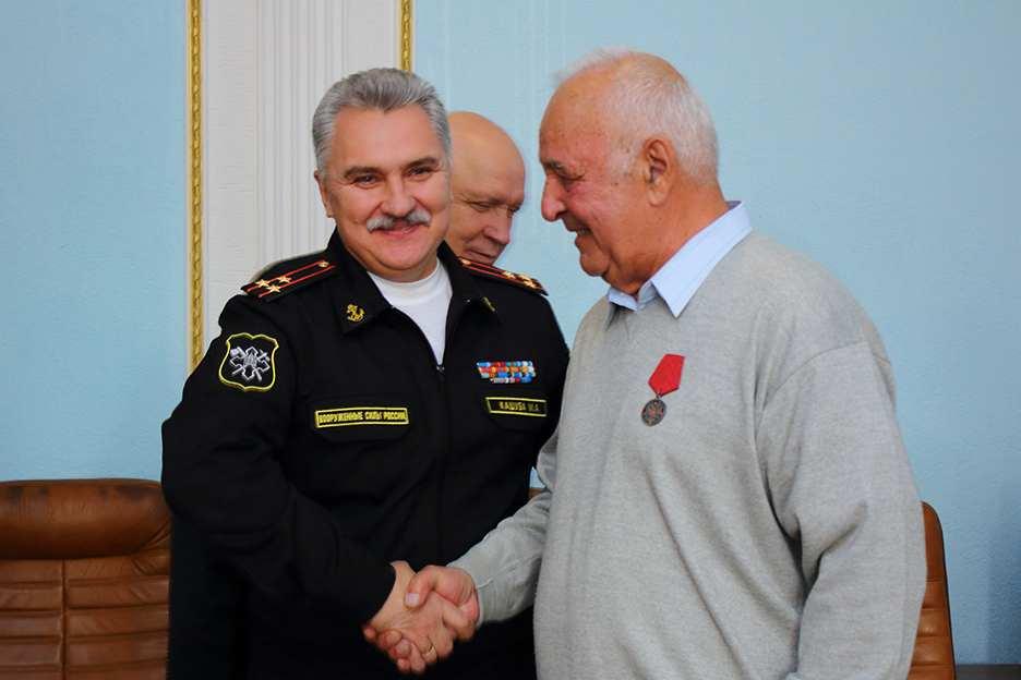 Решением Президента Владимира Путина новороссийца наградили медалью ордена «Зазаслуги перед Отечеством»