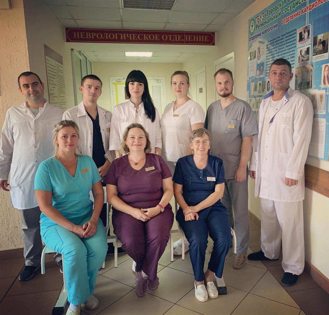 В Новороссийске спасли от инсульта сотого пациента за этот год с помощью тромболизиса