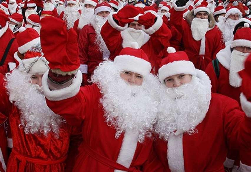 В Новороссийске пройдет забег Дедов Морозов. Присоединяйся!
