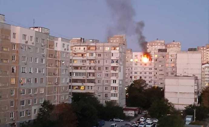 ВНовороссийске при пожаре пострадал грудной ребенок