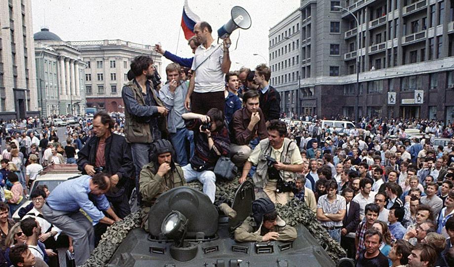 Августовский путч — на страницах «Новороссийского рабочего»